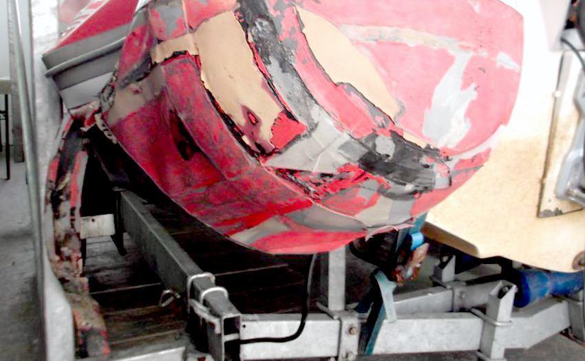 Priprema gumenjaka i motora za nadolazeću sezonu  Gumenjaci